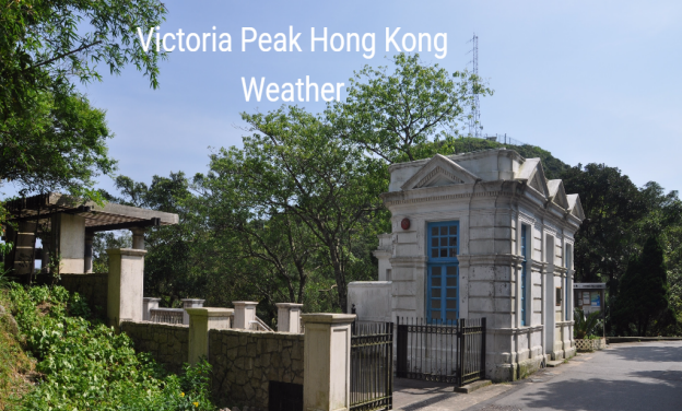 Weather on Victoria Peak Hong Kong